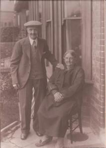 George and Mary Ann Theobald 1934
