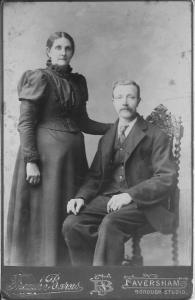George and Mary Ann Theobald