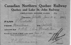 RR Pass Jan 26 1916