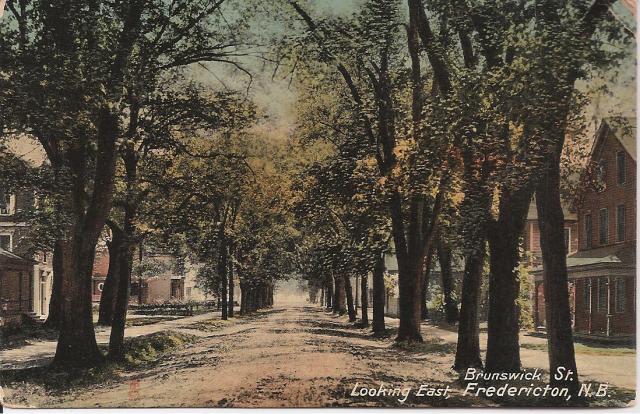 Brunswick Street Fredericton 1915