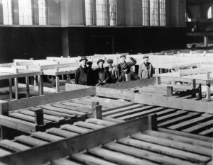 CNE building_bunks_for_the_transportation_building_WWI
