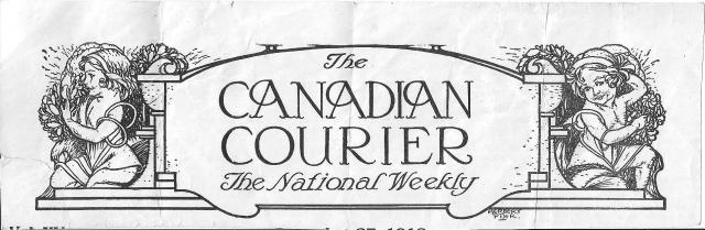 Canadian Courier front