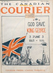 Cdn Courier June 1916 King George