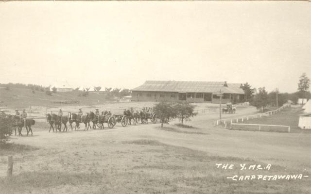 Runciman.postcard.YMCACampPetawawa