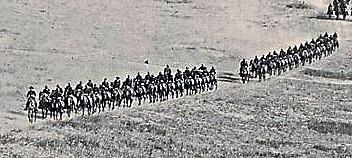 cavalry at a distance crop