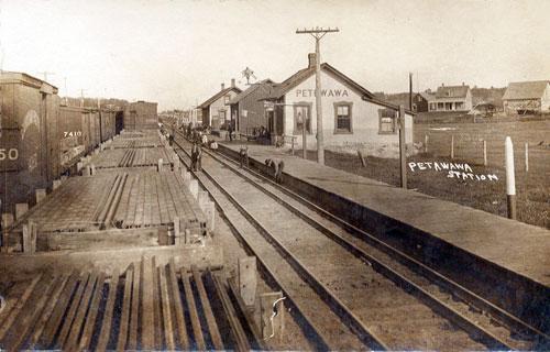 petawawa RR station