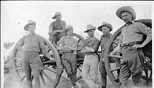 9c A firing gun detachment crop