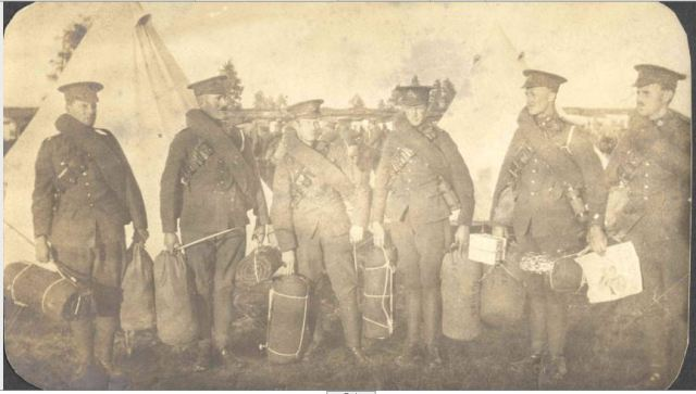soldiers with their bags packed Petawawa.JPG