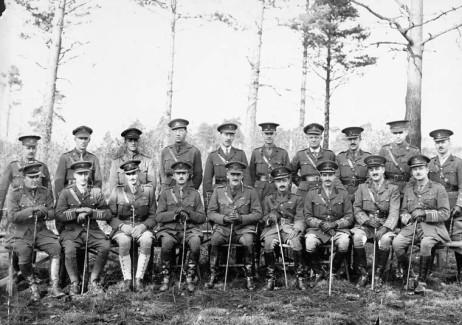 Garnet Hughes 5th division staff.jpg