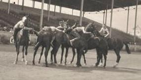 1916 06 17 wrestling on horseback crop