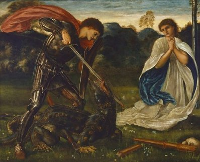 Burne Jones St George Art Gallery of NSW