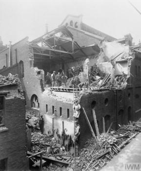 air raid July 7 1917 damage IWM