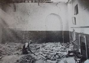 air raid June 13, 1917 classroom