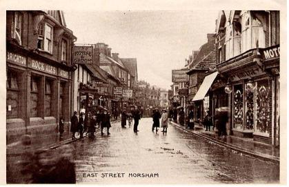 East Street Horsham  Robert Shrotreed photo.9d.1917.jpg