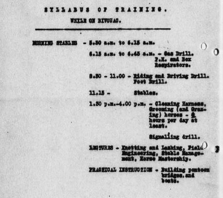 syllabus of training DAC June 1917.JPG