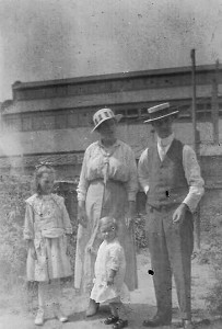 Ted Theobald and family outdoors crop