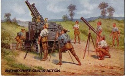Anti-aircraft guns war bond