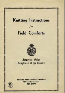 knitting instructions IODE