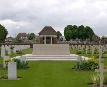 Aix Noulette Communal Cemetery Extension.JPG
