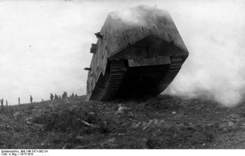 Westfront, deutscher Sturmpanzer